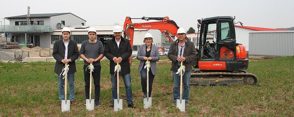 """Spatenstich für neuen """"Gewerbepark Nuber"""""""